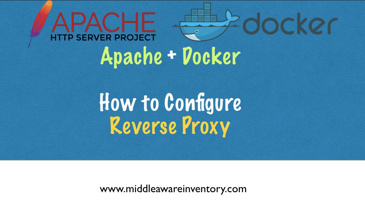 Docker Reverse Proxy